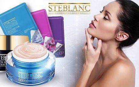 Hypoalergenní krém nebo maska značky STEBLANC. Různé druhy, poštovné v ceně.