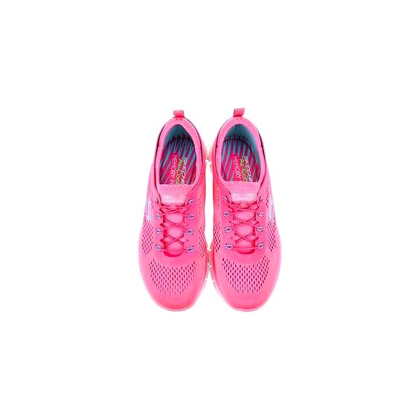 Neonově růžové dámské sportovní tenisky Skechers Harmony2