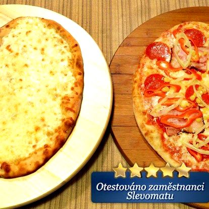 Libovolné pizzy ve tvaru srdce pro dva