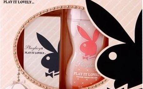 Dárková kazeta Playboy Play It Lovely Eau De Toilette + sprchový gel 30 ml + 250 ml