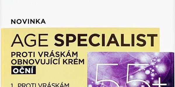 L'Oréal Paris Age Specialist Obnovující oční krém proti vráskám 15 ml