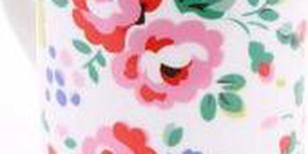 Bílý porcelánový hrnek s květinovým motivem Cath Kidston3