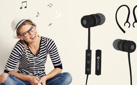 Sportovní Bluetooth sluchátka s mikrofonem a včetně dopravy zdarma