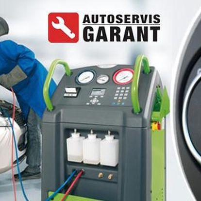 Kompletní péče o klimatizaci automobilu. Servis + doplnění kapaliny + čištění + dezinfekce klimatizace v Praze.