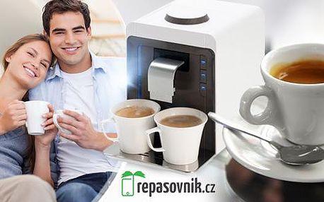 Espresso kávovar Medion MD 14020 pro přípravu až 2 šálků lahodné kávy najednou! Lze použít kapsle všech značek!