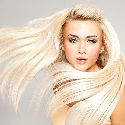 Brazilský keratin ve studiu Elegance v Praze. Vlasy hladké, zdravé a krásně lesklé.