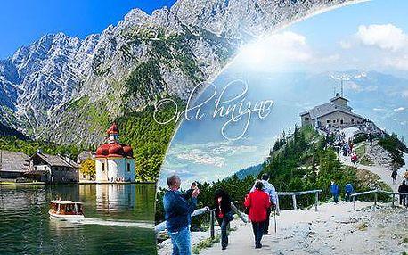 Hitlerova chata Orlí hnízdo a možnost projížďky po jezeře Königsee! 1denní autobusový zájezd z Prahy, léto 2016