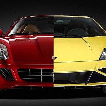 10–60minutová jízda ve Ferrari nebo Lamborghini po celé ČR