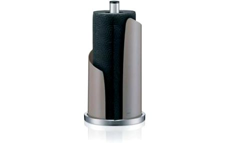 Držák na papírové utěrky STELLA kovový, tm. šedý KELA KL-11202