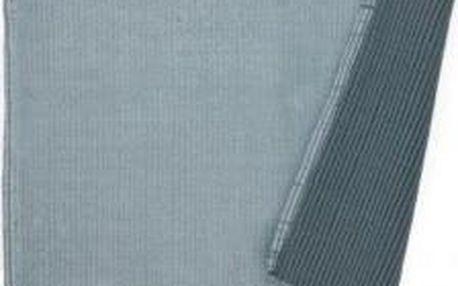 Koupelnová podložka HUGO, 100% bavlna, antracit 80x50cm KELA KL-22971