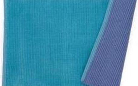 Koupelnová podložka HUGO, 100% bavlna, modrá 80x50cm KELA KL-22973