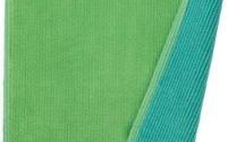Koupelnová podložka HUGO, 100% bavlna, zelená 80x50cm KELA KL-22972