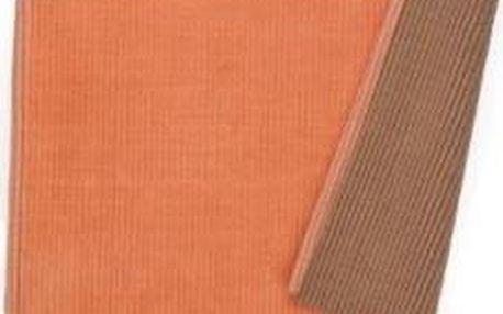 Koupelnová podložka HUGO, 100% bavlna, broskvová 80x50cm KELA KL-22970