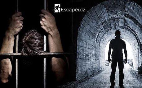 Úniková hra Escaper pro 2 až 5 hráčů na Praze 9! Dostaňte se za 60 minut z tmavého pokoje! Poslední možnost nákupu!