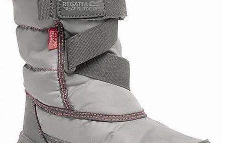 Dívčí zimní sněhule Regatta RKF389 SNOWCADET II DkSteel/Pop 38