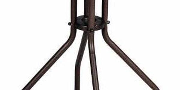 Garthen 35215 Zahradní balkonový set 2 židle + skleněný stůl3