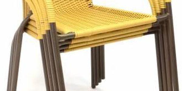 Garthen 35215 Zahradní balkonový set 2 židle + skleněný stůl5