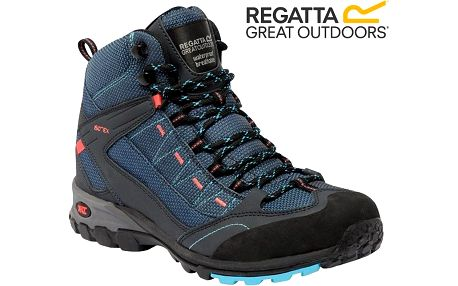Dámské trekové boty Regatta RWF456 ULTRA-MAX II MID MorocBlue/Coral 41
