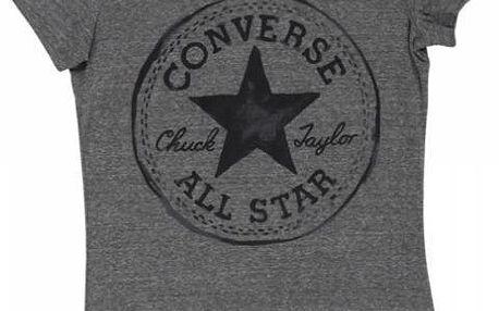 Dámské tričko Converse AWT CORE + CP sig. crew šedá l