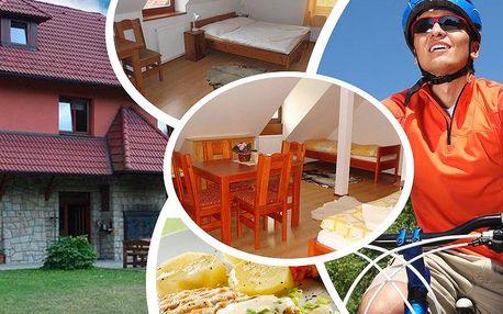Pobyt v romantickém penzionu Dočkalův Mlýn pro dva. Domácí kuchyně, pitný režim, zvířecí farma aj.