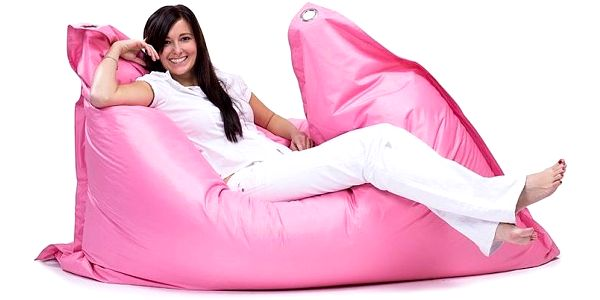 Omni Bag sedací pytel Pink4