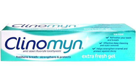 Clinomyn Extra Fresh Gel Ice Mint zubní pasta 75ml