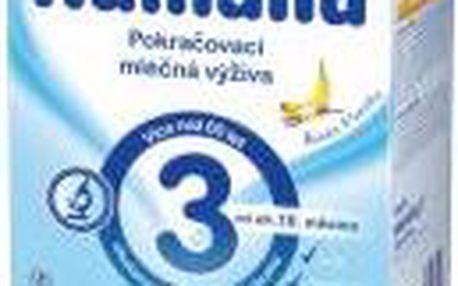 Humana 3 Pokračovací výživa banán - vanilka 600g