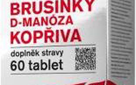 Nefdesanté Brusinky D-Manóza Kopřiva 60 tablet