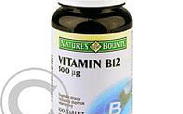 NATURE´S BOUNTY Vitamin B12 100 tablet x 500 mcg