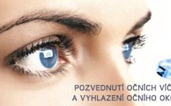 Komplexní vyhlazení očního okolí a pozvednutí oční...
