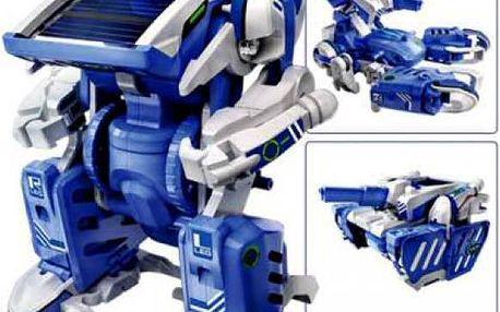 Solarbot 3v1 robot - škola hrou!