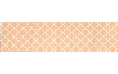 Vysoce odolný kuchyňský koberec Trellis Apricot, 60x220 cm - doprava zdarma!