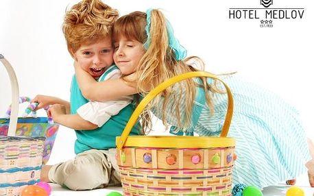 Výhodný rodinný pobyt na Velikonoce v srdci Vysočiny