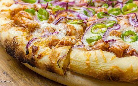 Dvě křupavé pizzy dle výběru