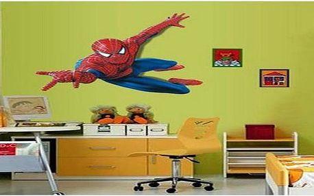 XXL samolepka na zeď Spiderman jen za 169 Kč