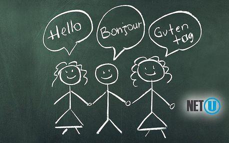 Intenzivní 3měsíční online kurz anglického, německého nebo francouzského jazyka