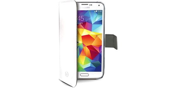 Celly pro Galaxy S5 mini (WALLY422WH)