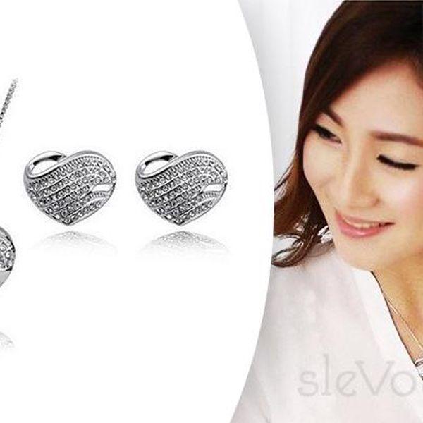 Elegantní set šperků Moon Hearts Elements style jen za 269 Kč. Poštovné zdarma!