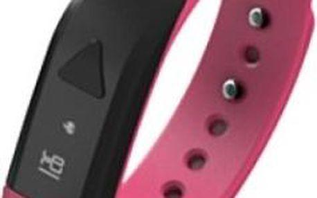 Aligator DW007 Bluetooth fitness náramek Pink