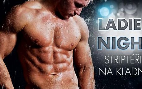 Kladno - pánská striptýzová show pro dámy LADIES NIGHT v podání striptérů Amor Team Praha. 27.5.2016!