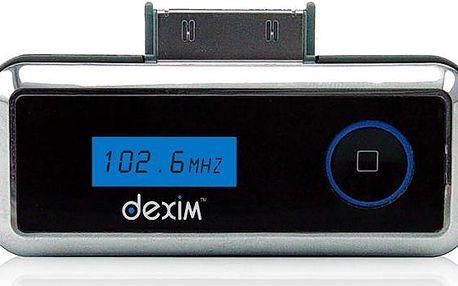 Dexim FM vysílač pro Apple iPhone/ iPod - DFA003B