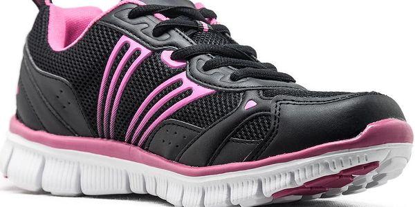 Dámská běžecká obuv LOAP JOYNER black/fuchsia 36