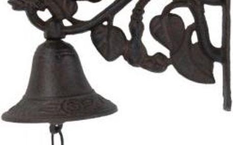 Zvonek nad dveře, květina, železný, hnědý EXCELLENT KO-CE7100530kvet Zvonek nad dveře, květina, železný, hnědý EXCELLENT KO-CE7100530kvet