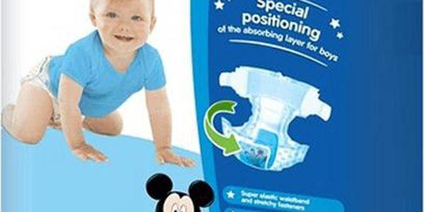 HUGGIES Ultra Comfort JUMBO BOY Disney, vel. 4, 44 ks (8 - 14 kg) - jednorázové pleny