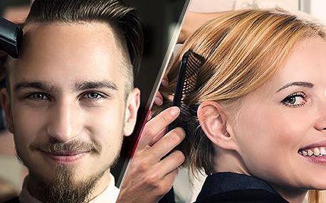 Kompletní dámský nebo pánský střih v kadeřnictví J. Tůmové! Platí pro všechny délky vlasů!