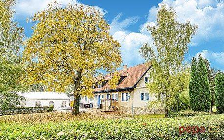 3 až 8denní pobyt pro 2 s polopenzí v hotelu Landštejnský dvůr ve Slavonicích