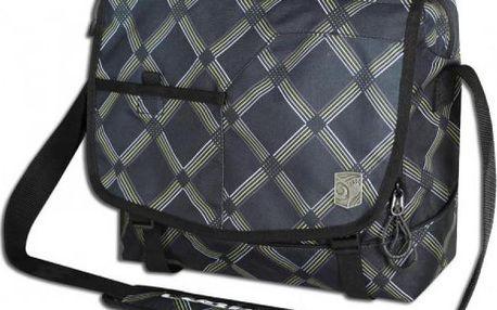 taška na laptop Loap Reel plum 35*29*13