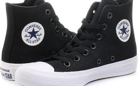Oblíbené boty Converse Chuck Taylor II HI black/white