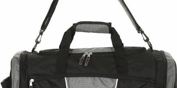 cestovní taška Lopa CODAL black/c.rock 40l