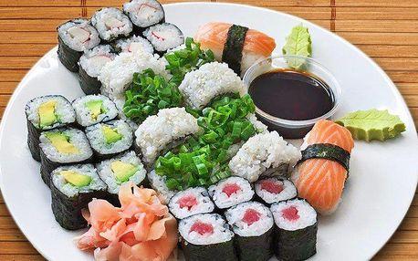 Sushi sety plné lahodných rolek